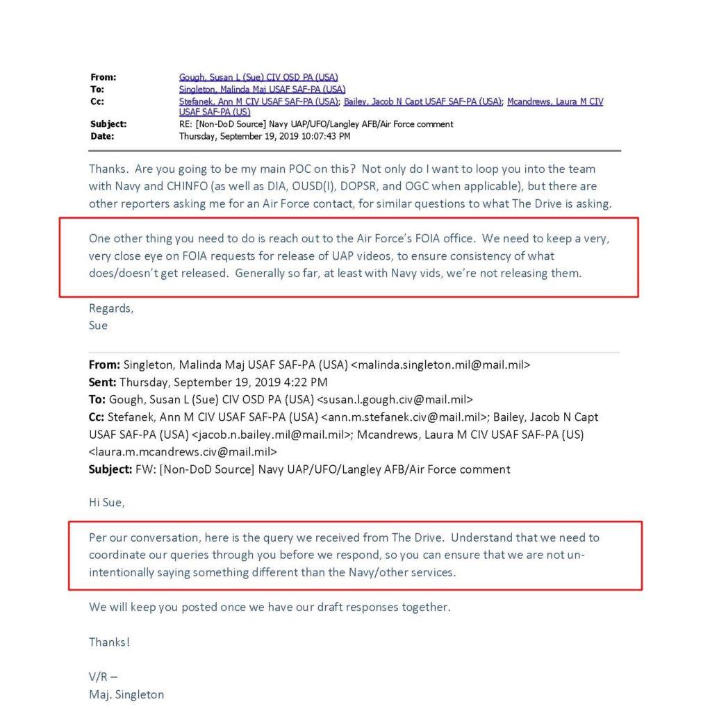 Pentágono tem interferido na verdade sobre OVNIs/Elizondo/AATIP